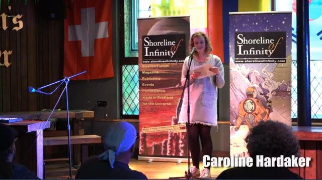 Caroline Hardaker readings and events