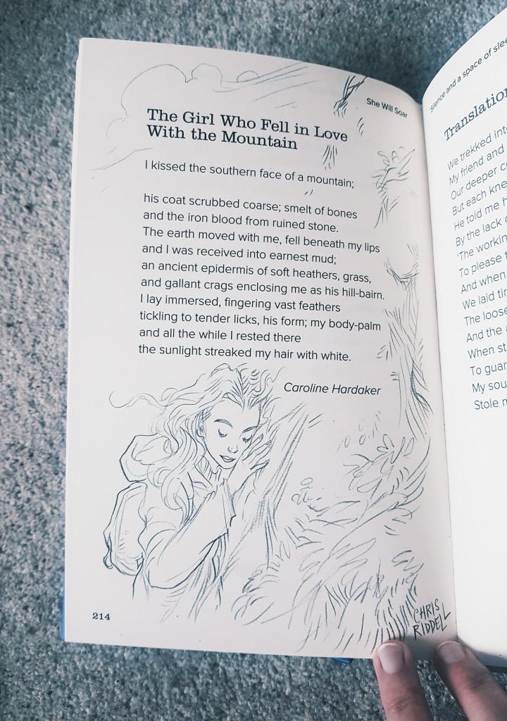 Caroline Hardaker poet 'The Girl Who Fell in Love with the Mountain'